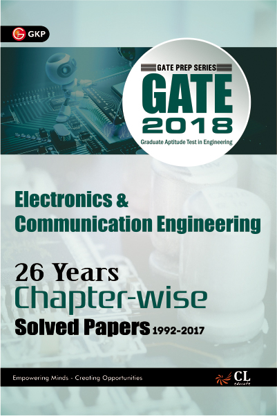 Gate Electronics & Communication (26 Year Chapter wise Solved Papers) 2018