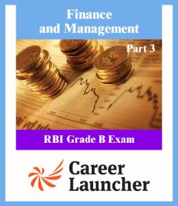 Finance and Management RBI Grade B Part 3