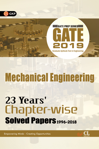 Gate Mechanical Engineering (23 Year's Chapter wise Solved Papers) 2019